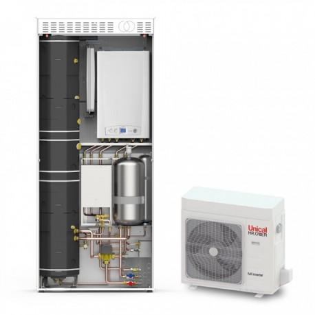 Pompe à chaleur UNIK 35 HP 120 Unical
